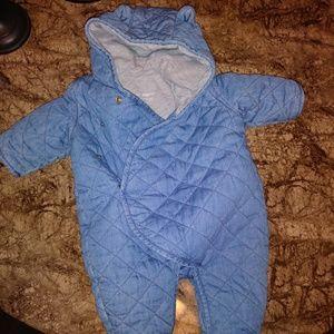 GAP One piece baby teddy bear 0-3 months
